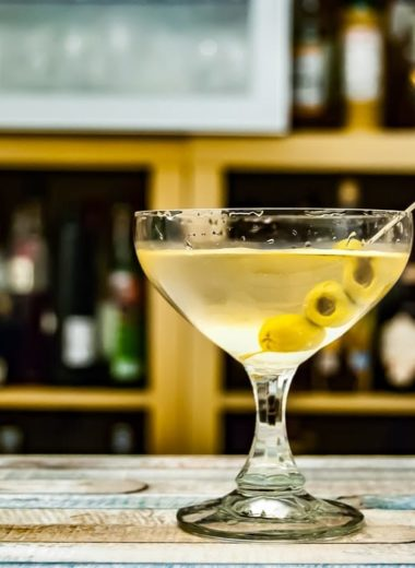 dirty martini recept