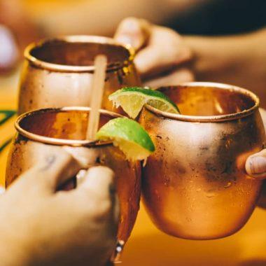 gin gin mule recept